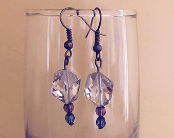 Handmade Earrings with Swarovski Elements