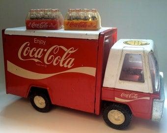 Vintage Buddy L Coca Cola Diecast Truck