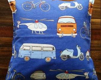 Retro, Comby, colourful cushion cover