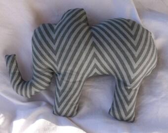 Ellie the Elephant-plush squeaker dog toy