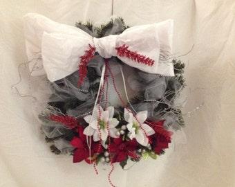 "Christmas Wreath Handmade 12"""