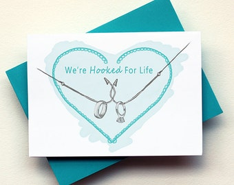 Hooked For Life Card