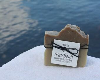 Patchouli - Handmade Bar Soap