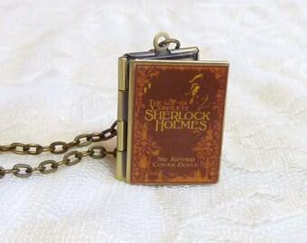 Sherlock Holmes Story Locket