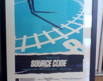 """Ollie Moss by Mondo Limited Edition """"Source Code"""" Numbered 165/200 Framed D&L Screen Printing"""