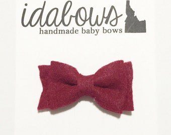 Felt Baby Bows