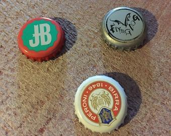 Set of 3 Bottle Cap Magnets!