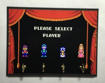 Super Mario Bros 2 Key Holder