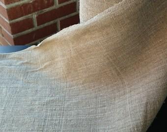Amazing polish antique handwoven linen. Unique.