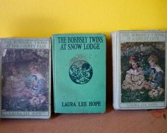 3 Bobbsey Twins Books