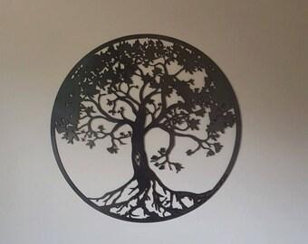 Tree of Life (variation two) Metal Art