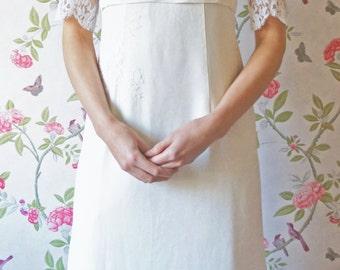 Mae 1960s vintage wedding dress