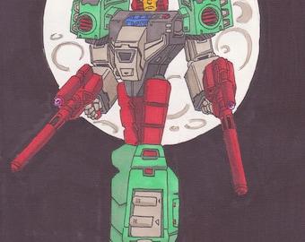Transformers Quickswitch - A4 Print