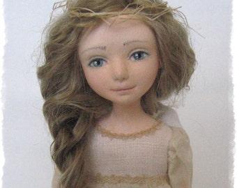 "Author Doll ""Angelënuška: what dream you.?."""