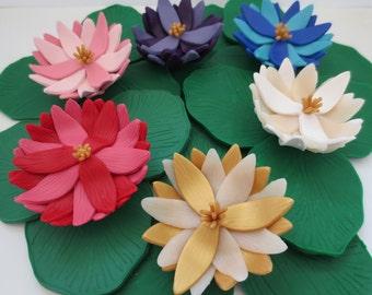 Lotus Flower / Ring Holder / Gift for Her / Sculpture / Jewelry Holder / Bangle Holder / Zen / Buddhism / Gift / Home Decor / Art