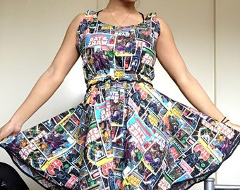 Star Wars Comic Skater Dress