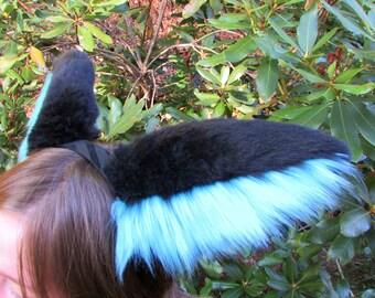 Angel Dragon Ears Cosplay Fursuit Headband Fluffy Furry Cute