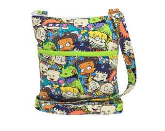 Rugrats Crossbody Bag // Sling Bag // Crossbody Purse // Shoulder Bag // Hipster // Nickelodeon