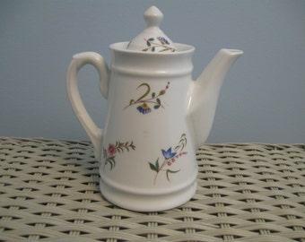 Vintage Cordon Bleu International BIA Large Porcelain Flower Pitcher