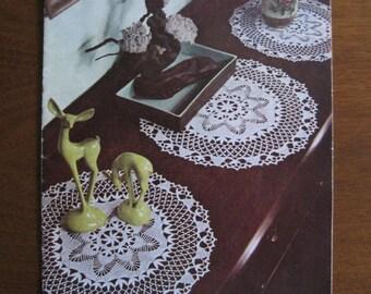 Doilies, Instruction Booklet, Lily Design Book No. 67, 1952, Vintage