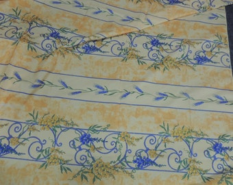 FRENCH PROVENCAL Custom Color Tablecloth, Stain Resistant, Indoor-Outdoor Tablecloth
