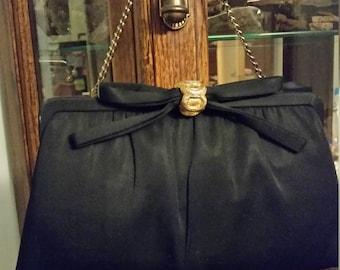 Vintage Black Purse       PostIDRG06