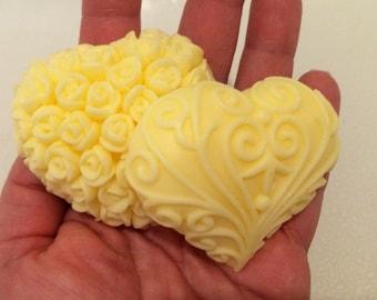 20 soap favors in BULK- perfect for weddings/shower favors.