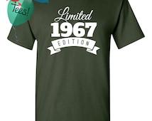 1967 Birthday Shirt 49 Limited Edition Birthday Shirt 49th Birthday Gift for Him Celebration Gift for Her T-Shirt Birthday Gift 1967
