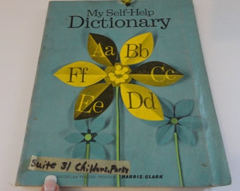 Vintage My Self-Help Dictionary by Harris & Clark  1966  Children's Book