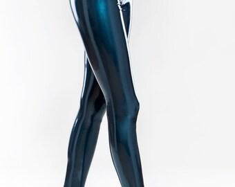 Latex stirrup leggings