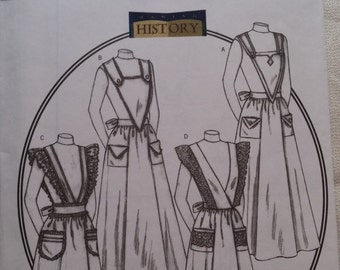 Butterick 4042 ~ Historical Country Apron Pattern