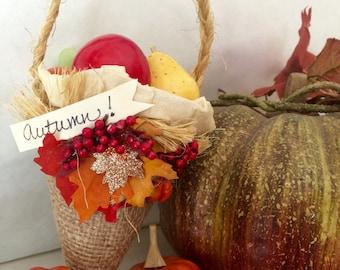 Autumn Party Favor Cone