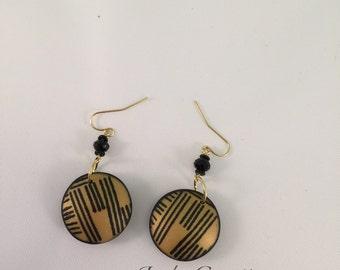 Hollow Bead Earrings