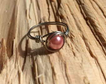 Small Wire Wrapped Ring