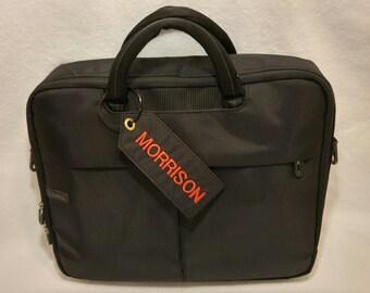 Custom Embroidered Luggage Identification Tag