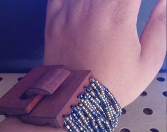 Czech Beaded Bracelet
