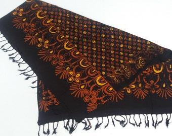 Batik Scarfs