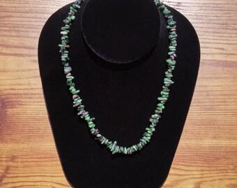 Necklace / Bracelet Ruby zoisite