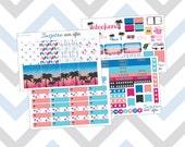 Resort Glam Weekly Kit ~ Planner Stickers