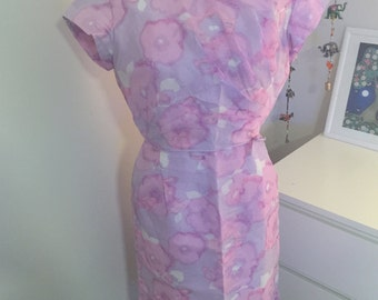 SALE 1950s tea party dress