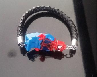 Lego Bracelet (Spider-man)