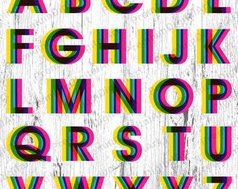 26 blue neon lampe alphabet stift gezeichneten schrift von. Black Bedroom Furniture Sets. Home Design Ideas