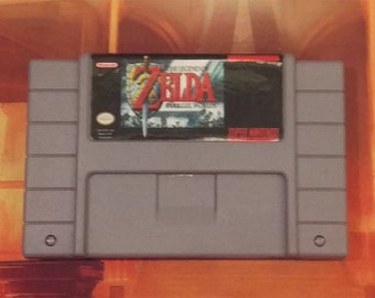 The Legend of Zelda: Parallel Worlds - Super Nintendo SNES - Repro English