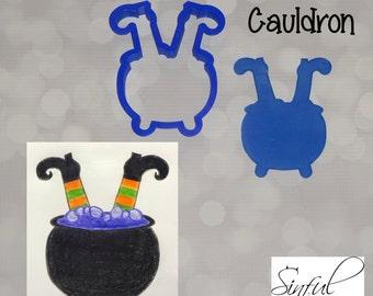 Witch Cauldron Cookie Cutter