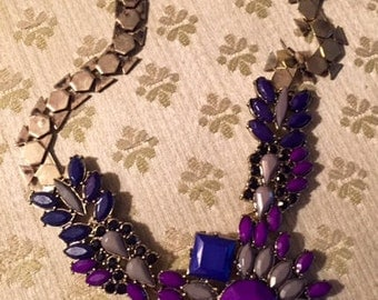 Purple/Blue necklace