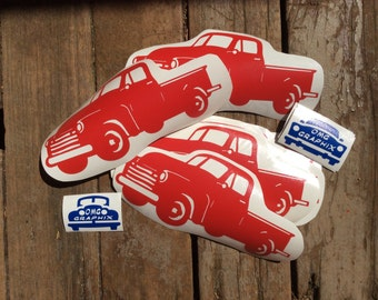 Classic Pickup Truck Vinyl Decal Sticker