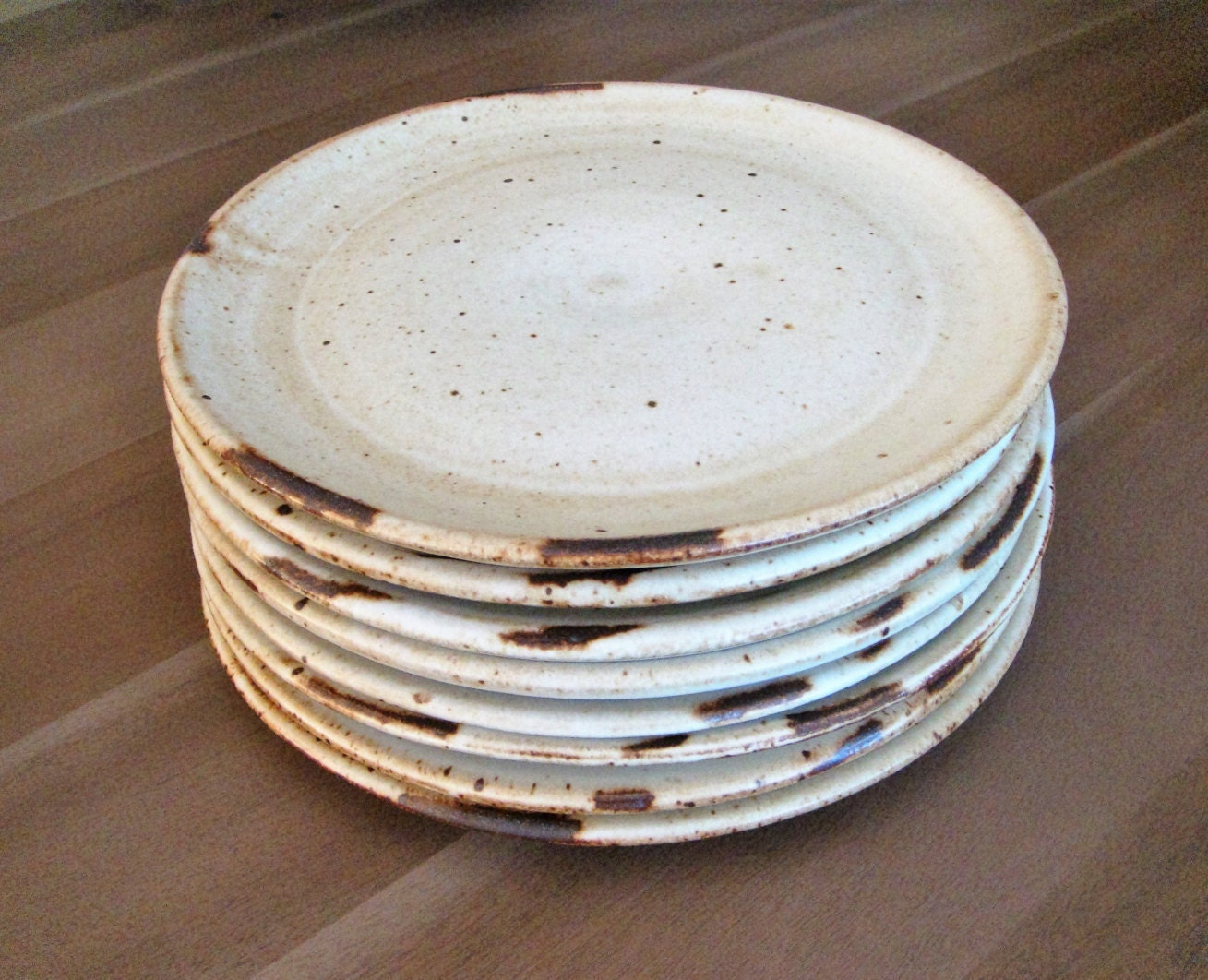 Ceramic Dinner Plates Handmade Dinnerware Farmhouse Rustic