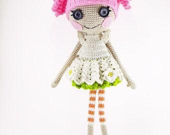 Joyeuse Lalaloopsy doll with pink hair
