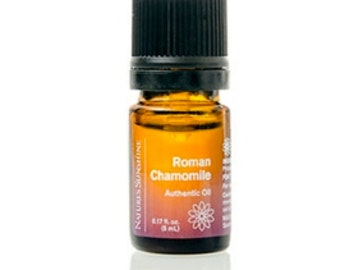 100% pure, ROMAN CHAMOMILE, Essential oil, Bedtime, Calming, Rest, Sleep, Sensitive skin, Yoga, Spa Gift, 5 ml, Nature's Sunshine