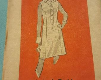 1960 Printed Pattern Size 14 #9235